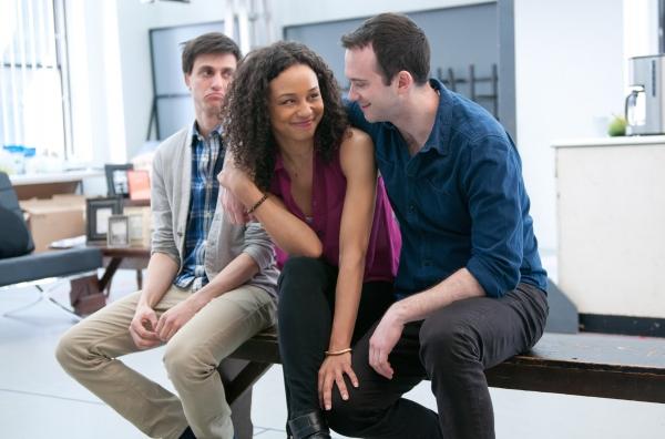 Gideon Glick, Carra Patterson, Luke Smith