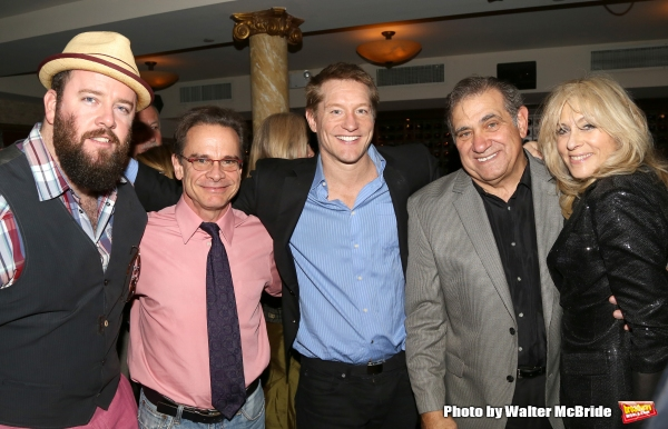 Chris Sullivan, Peter Scolari, Bill Dawes, Dan Lauria and Judith Light