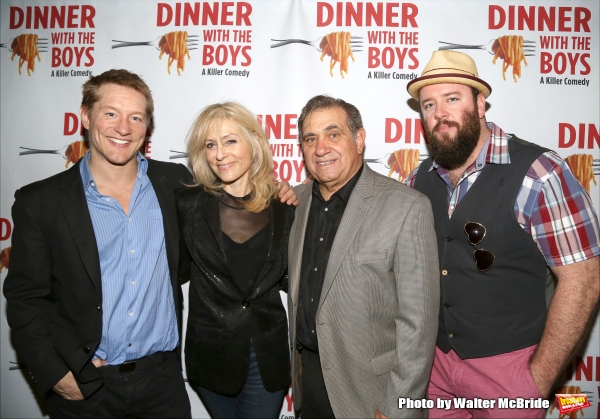 Bill Dawes, Judith Light, Dan Lauria and Chris Sullivan