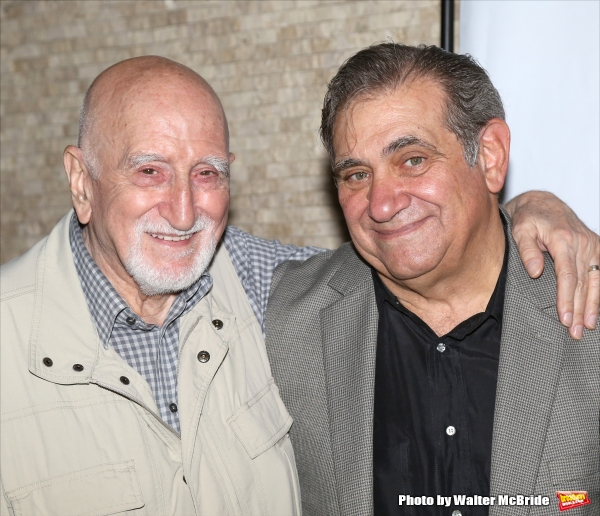 Dominic Chianese and Dan Lauria