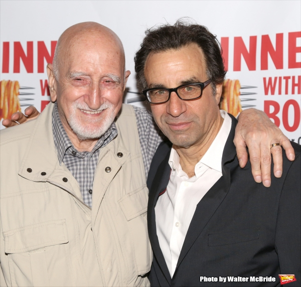 Dominic Chianese and Ray Abruzzo