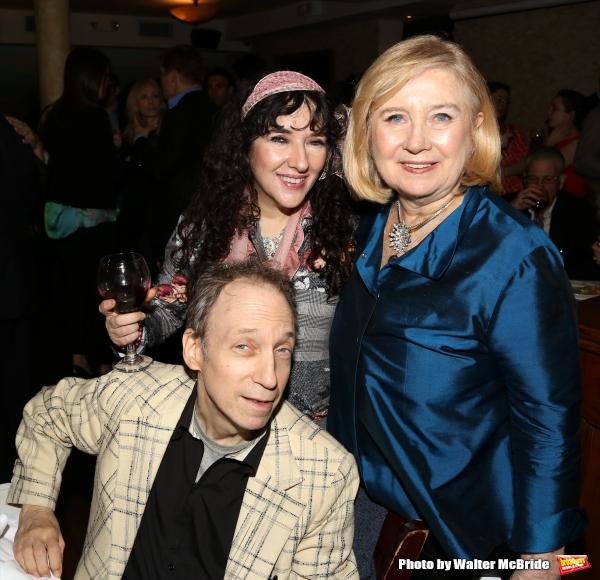 Scott Siegel, Barbara Siegel and Producer Pat Flicker Addiss
