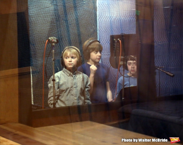 Hayden Signoretti, Jackson Demott Hill and Alex Dreier  Photo