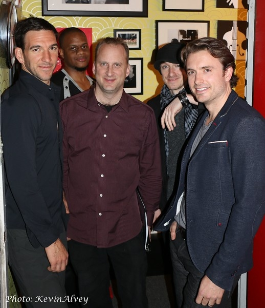Craig Magnano, Jason Patterson, David Manning, Jonny Morrow and James Snyder