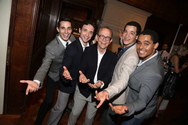Drew King, Rick Faugno, Joel Grey, Richard Riaz Yoder and Phillip Attmore