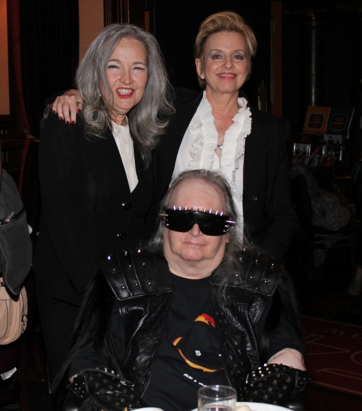 Karla DeVito, Ellen Foley and Jim Steinman