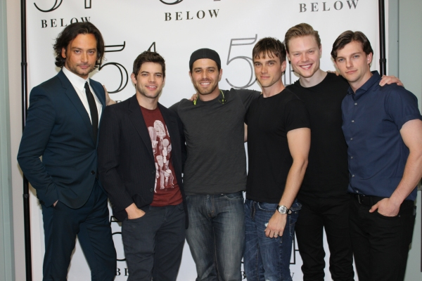 Constantine Maroulis, Jeremy Jordan, Josh Young, Justin Sargent, Tyce Green and Dan Tracy