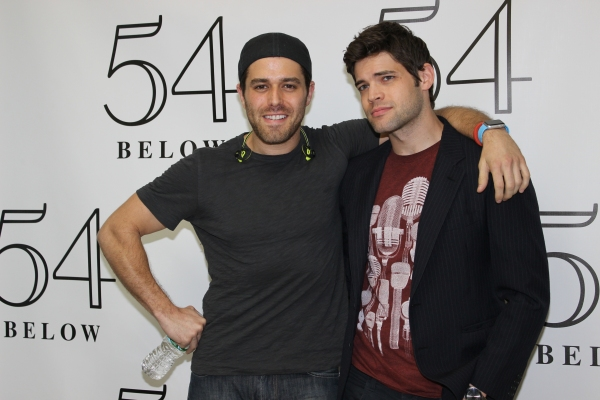 Josh Young and Jeremy Jordan