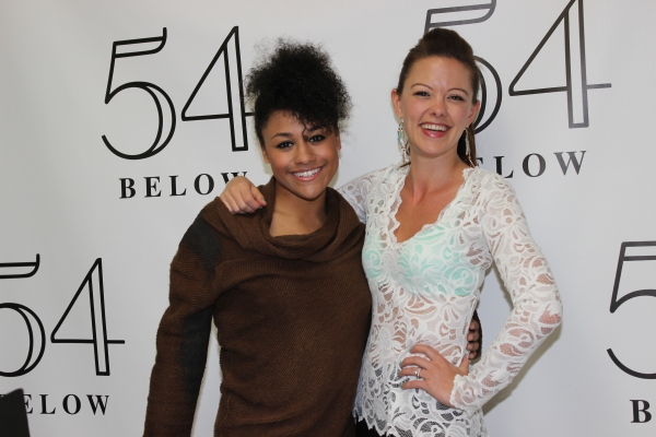 Ariana DeBose and Kate Rockwell