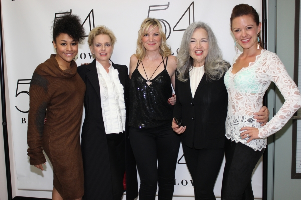 Ariana DeBose, Ellen Foley, Jessica Hendy, Karla DeVito and Kate Rockwell