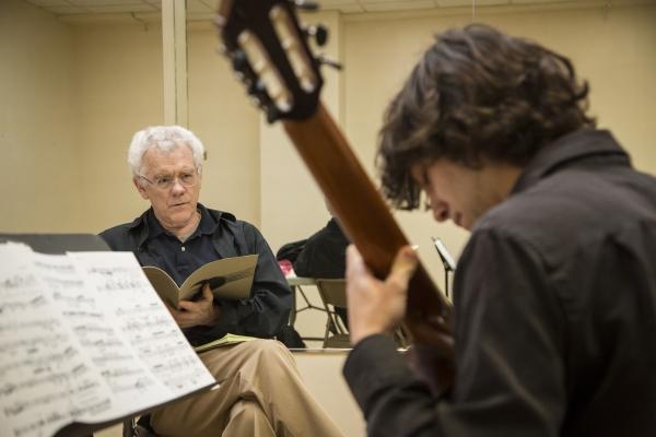 Michael Starobin hosts a master class