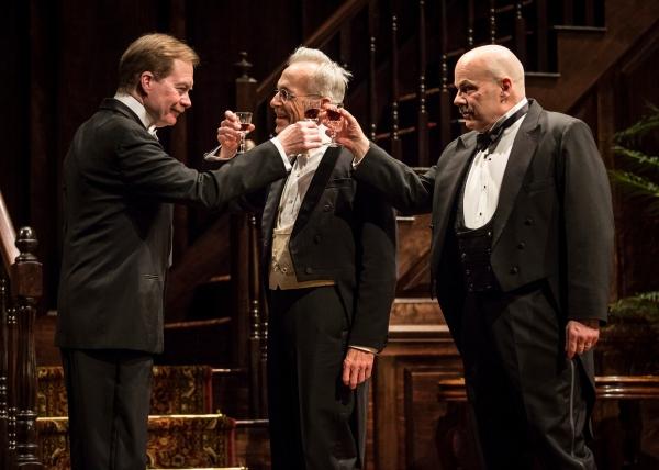 Michael Canavan (William Marshall), Larry Yando (Ben Hubbard) and Steve Pickering (Oscar Hubbard)