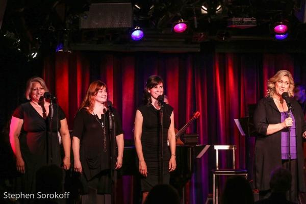 Rebecca Kendall, Heidi Siegell, Margaret Kelly, Carolyn Montgomery-Forant