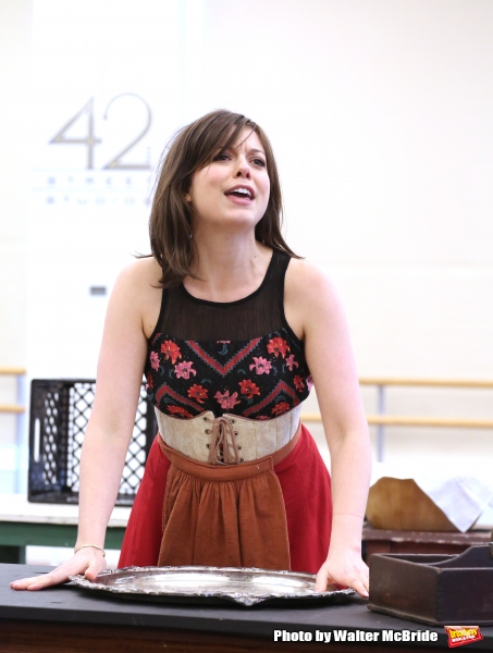Photo Coverage: Go Inside Rehearsal with the Cast of Paper Mill Playhouse's EVER AFTER!