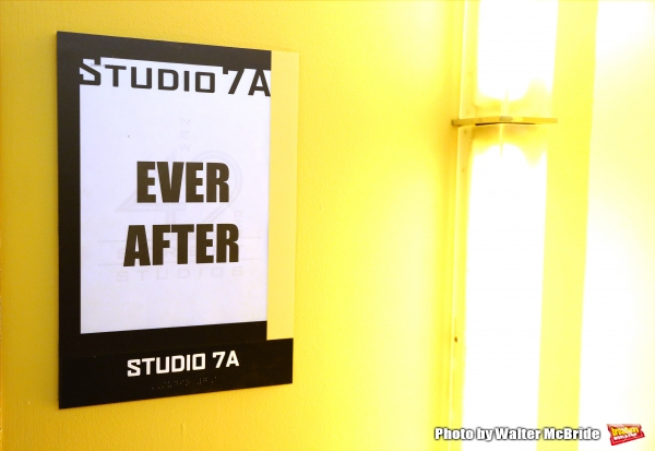 Press rehearsal for the Paper Mill Playhouse production of ''Ever After'' at the New 42nd Street Studios on May 7, 2015 in New York City.
