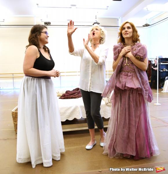 Annie Funke, Christine Ebersole and Mara Davi