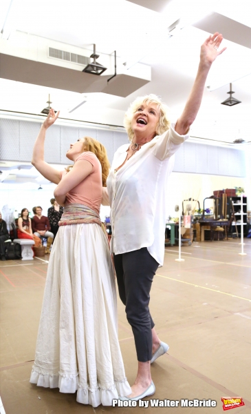 Mara Davi and Christine Ebersole