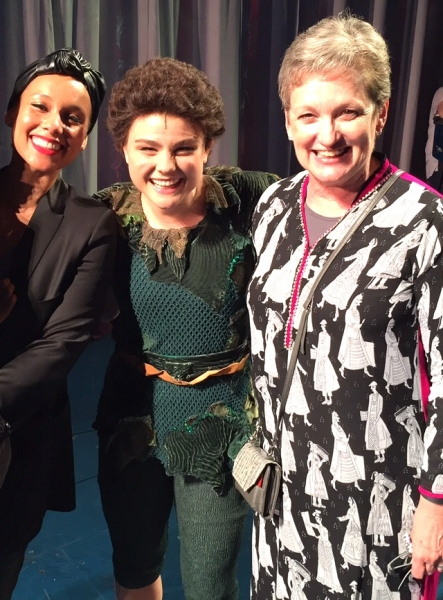 Alicia Keys with her mother and son at FINDING NEVERLAND