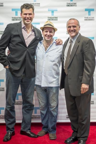 John Stemberg, Stef Tovar and Norm Boucher