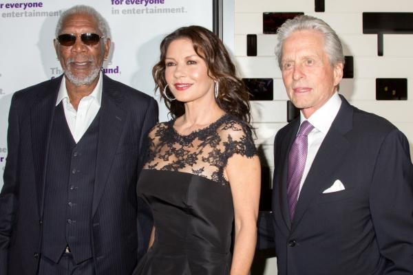 Morgan Freeman, Catherine Zeta-Jones, Michael Douglas