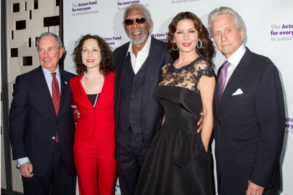 Michael Bloomberg, Bebe Neuwirth, Morgan Freeman, Catherine Zeta-Jones, Michael Douglas