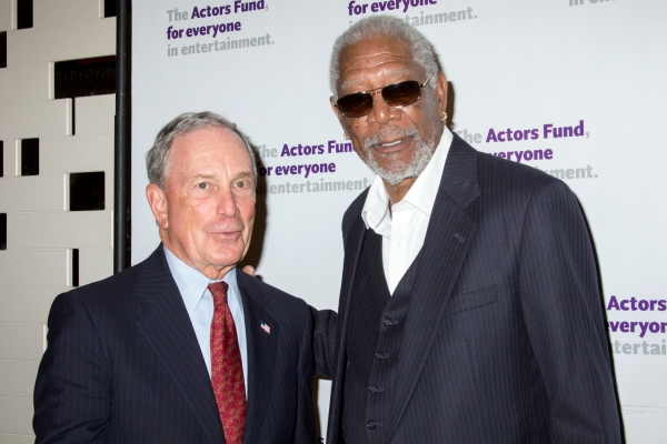 Michael Bloomberg, Morgan Freeman