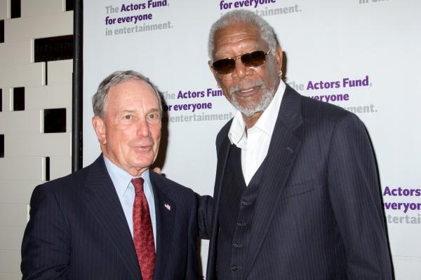 Michael Bloomberg, Morgan Freeman