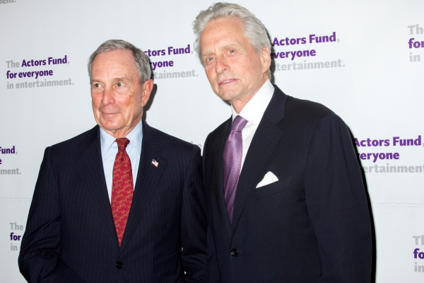 Michael Bloomberg, Michael Douglas