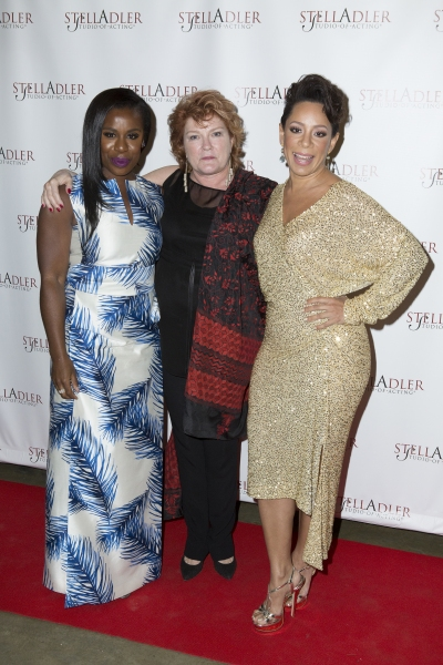Uzo Aduba, Kate Mulgrew and Selenis Leyva