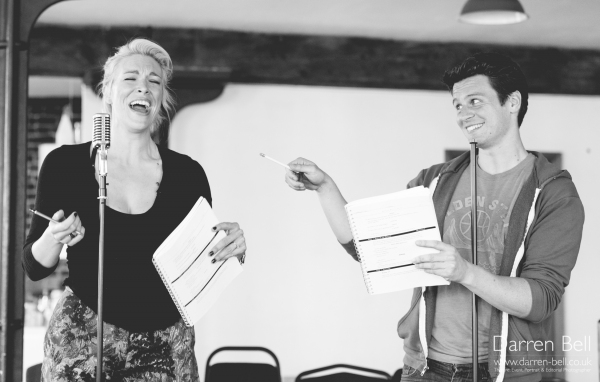 Hannah Waddingham and Jonathan Groff
