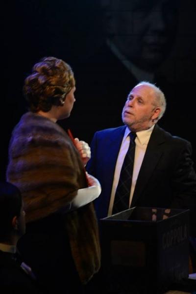 Anna Kirkland as Elisabeth Schwarzkopf and Rick Grossman as Richard Strauss