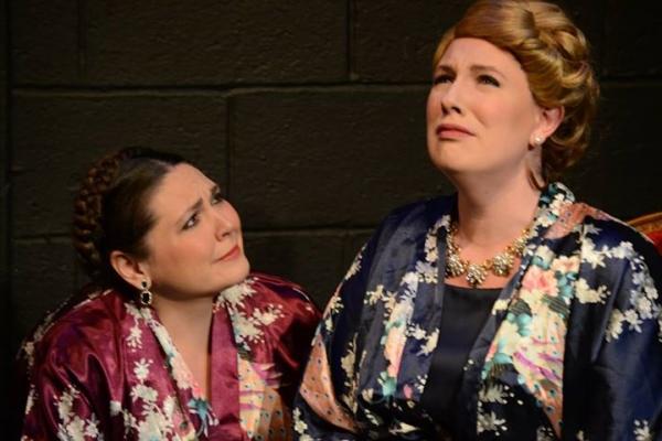 Anna Kirkland as Elisabeth Schwarzkopf and Kim Rogers as Kirsten Flagstad