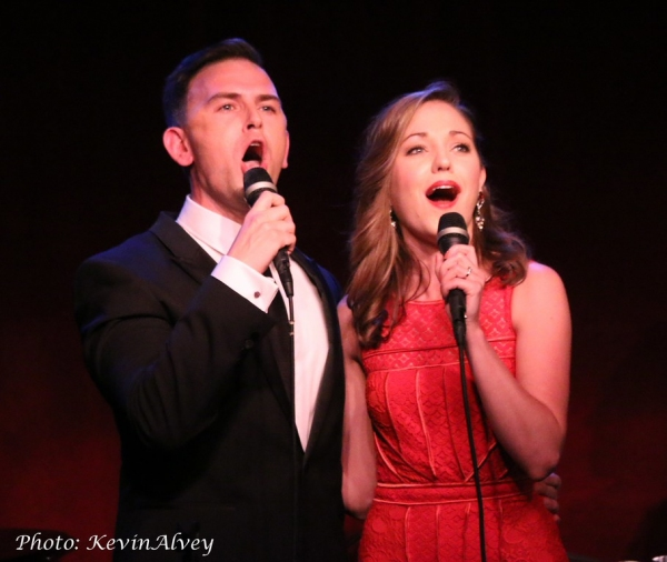Daniel Reichard and Laura Osnes