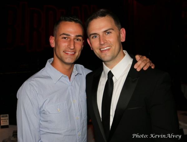 Joey Dudding and Daniel Reichard