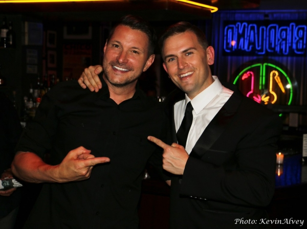 Ty Herndon and Daniel Reichard