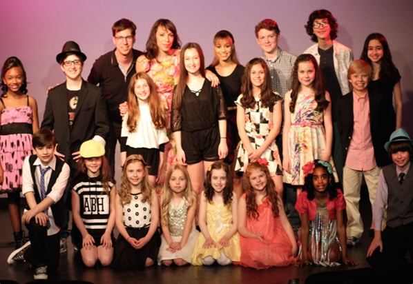 Cast of Songs4Sloan with Ellyn Marie Marsh (Director) and Drew Wutke (Musical Director)
