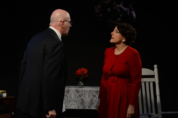 Orlando Iriarte and Dorothy Weems as Rose Kennedy