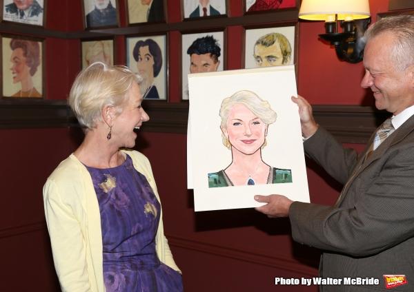 Helen Mirren and Max Klimavicius