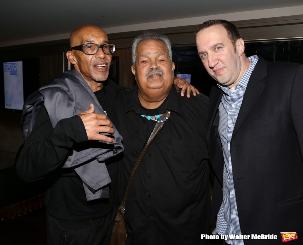 Reg E. Gaines, Miguel Algarin and Danny Hoch