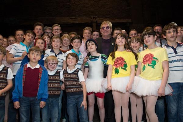 Elton John & Cast Photo