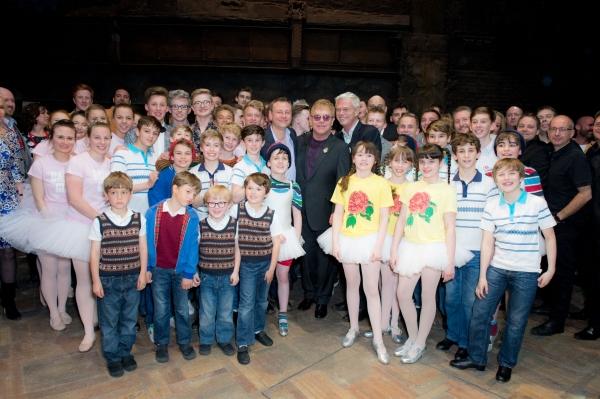 Lee Hall, Elton John, Stephen Daldry & Cast Photo