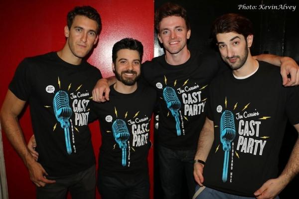 Adam Roberts, Sergio Ortega, Jake Odmark and Brandon Rubendall