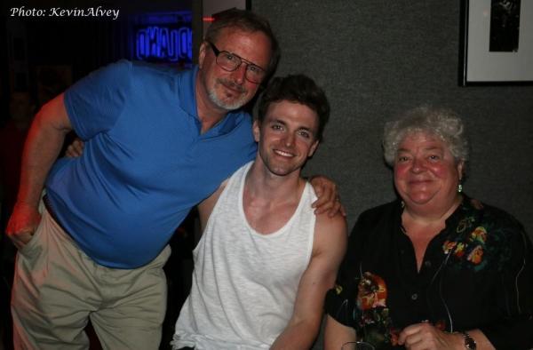 Bob Odmark, Jake Odmark and Julie Landsman Photo