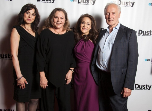 Valerie Smaldone (media personaility/event host), Kathleen Turner (actress and presenter), Annie Flocco (Festival producer/director, SVA faculty member and independent film producer) and Reeves Lehmann, (chair of the BFA Film & Video and BFA Animation pro