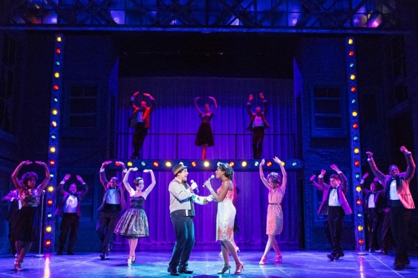 Christopher Sutton, Kimber Sprawl and the cast of MEMPHIS
