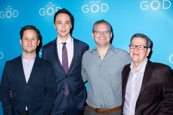 Christopher Fitzgerald, Jim Parsons, David Javerbaum, Tim Kazurinsky