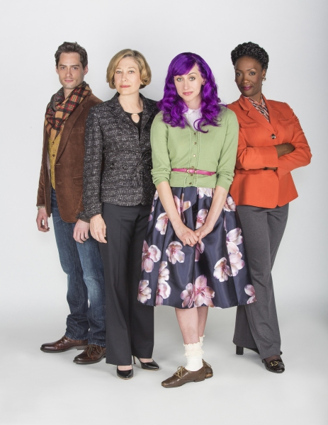 JD Taylor appears as Henry, Meg Gibson as Eve, Lauren Blumenfeld as Claudine, and Carolyn Michelle Smith as Maggie