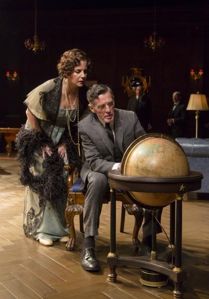 Margaret Colin and John Glover