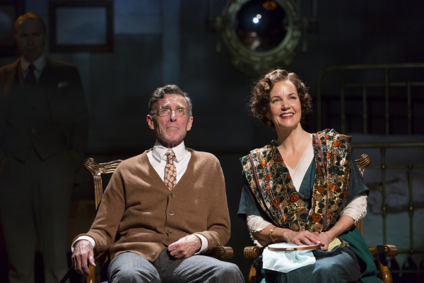 John Glover and Margaret Colin