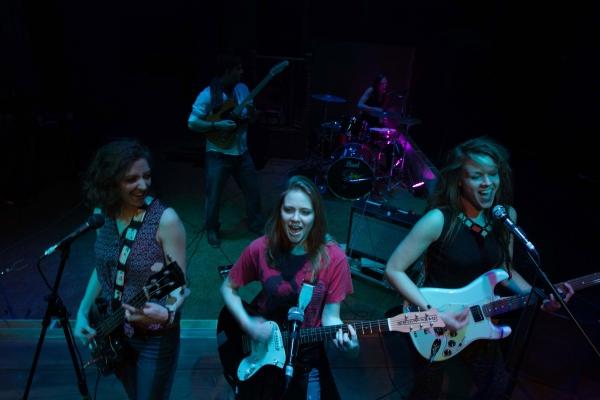 Courtney Jones, Alison Hixon and Annie Prichard Photo